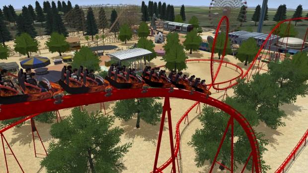Rollercoaster Dreams Achterbahn