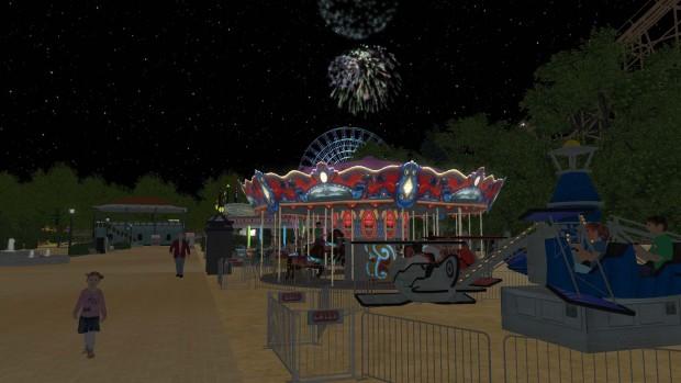 Rollercoaster Dreams Nacht