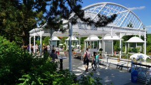 Schwaben-Park Märchen-Rundbootfahrt Pavillon