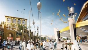 """Neues Transportsystem auf Yas Island: Futuristische Magnetschwebebahn """"skyTran"""" kommt nach Abu Dhabi"""