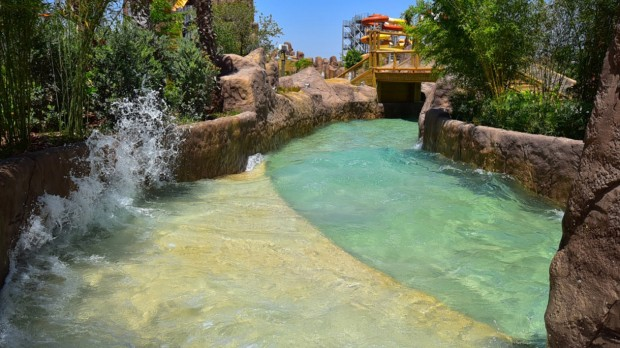 The Land of Legends Wildwasser