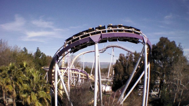 """Vortex"" in California's Great America"