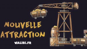 Walibi Rhône-Alpes Neuheit 2017 Teaser