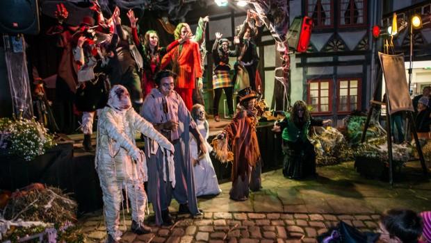 BELANTIS Halloween-Show auf dem alten Marktplatz