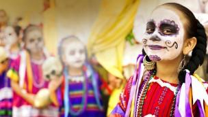 Burger's Zoo - Dia de los Muerto - Kinderschminken