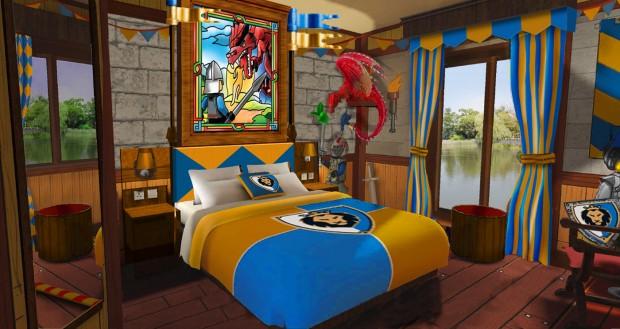 Caslte Hotel Schlafzimmer