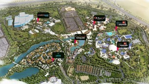 Dubai Parks & Resorts Karte