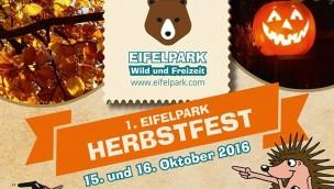 Eifelpark Gondorf Herbstfest 2016 - Ankündigung