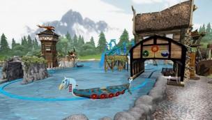 Energylandia Wikinger-Bootsfahrt Render