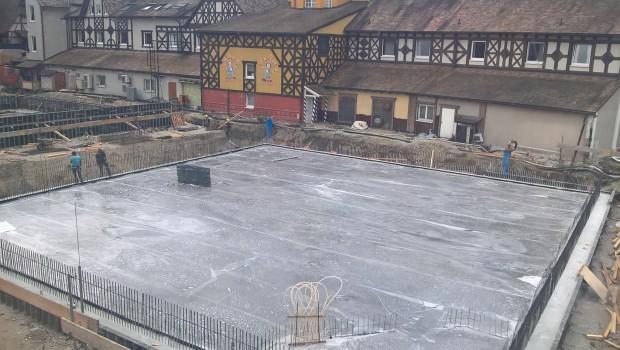 Europa-Park Baustelle - Deutsche Allee - Betonplatte