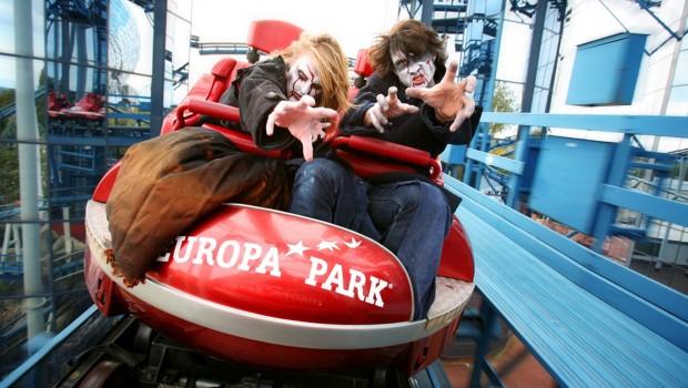 Europa-Park Euro-Mir zu Halloween