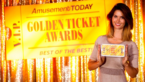 Europa-Park Miriam Mack bei Golden Ticket Awards 2016