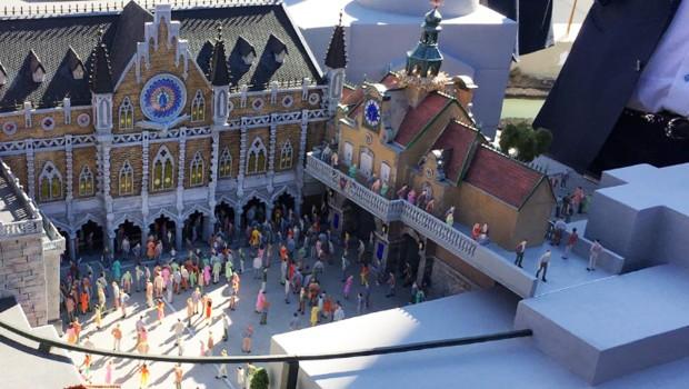 Europa-Park Rathaus Modell