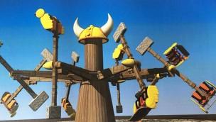 """Fliegen wie Thors Hammer: Festyland eröffnet 2017 """"Miolnyr"""" als Jubiläums-Neuheit"""