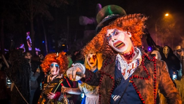 Filmpark Babelsberg Horrornächte - Alice Hutmacher Kostüm