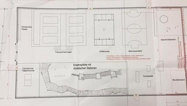 Freizeitpark Possen 2017 Plan
