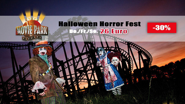 Günstige Halloween Horror Fest-Tickets 2016