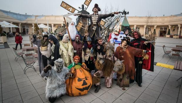 Halloween-Gestalten BELANTIS Schlossplatz