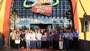 735 Firmenjahre im Heide Park Resort: Mehr als 60 Mitarbeiter feiern 2016 Jubiläum
