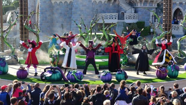It's Good to be Bad Halloween-Show im Disneyland Paris