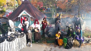 "Kernie's Familienpark feiert Halloween 2016 mit ""Graf Kernie-cula"""