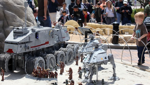 LEGOLAND California - Star Wars Miniland