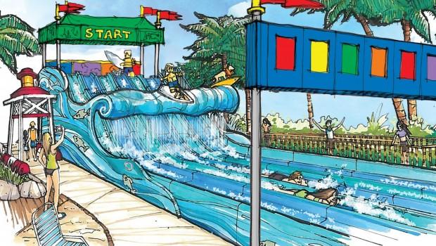 LEGOLAND California Surfer'S Bay Concept