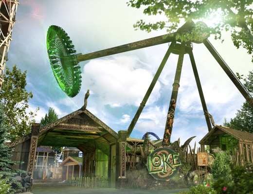 Loke Liseberg Artwork