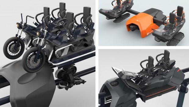 Maurer Rides Spike Card Design Concept