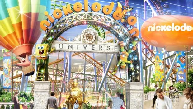 Nickelodeon Universe - American Dream Artwork