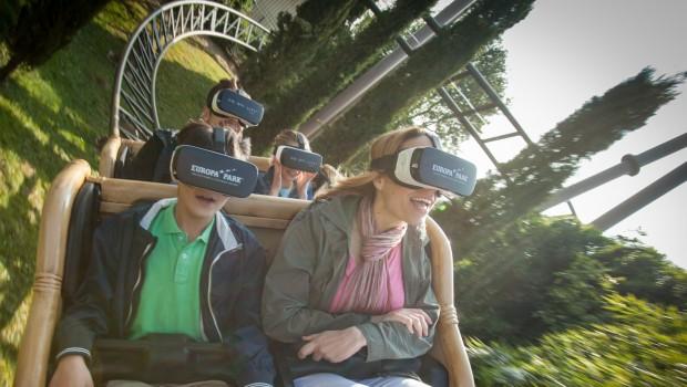 Pegasus im Europa-Park mit VR-Brille