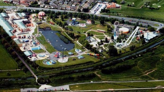 Pleasure Island Cleethorpes - Luftaufnahme