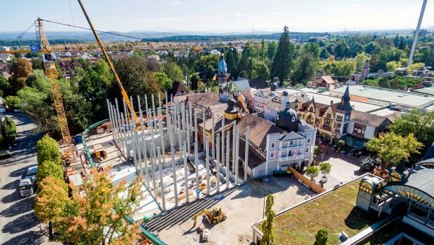 Project V - Baustelle EUropa-park im September 2016