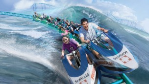SeaWorld San Antonio 2017 - Wave Breaker Artwork