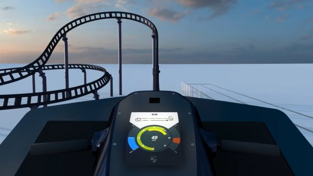 Sky Dragster Cockpit Animation - Skyline Park