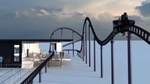 """Sky Dragster"" im Skyline Park eröffnet 2017 – Testphase steht kurz bevor"