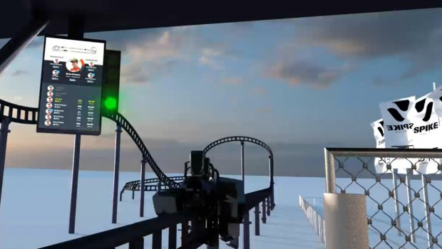 Sky Dragster Station - Animation
