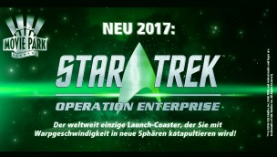 "Movie Park Germany enthüllt ""Star Trek: Operation Enterprise""-Logo"