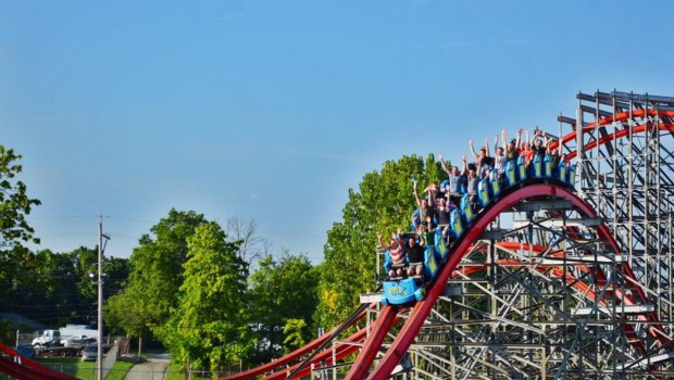 Storm Chaser Kentucky Kingdom Airtime