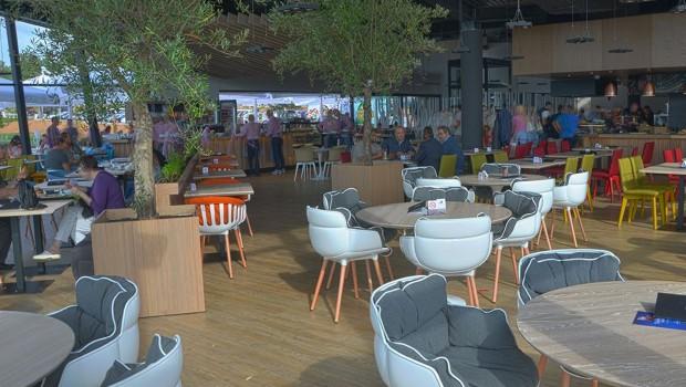 Sunnyland Trebević - Restaurant Innen
