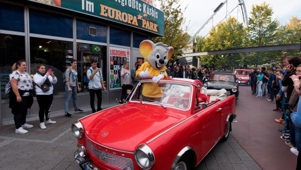 Trabi-Cabrio im Europa-Park