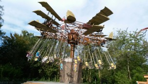 Wellenflug im Holiday Park