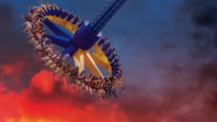 "Six Flags Discovery Kingdom 2017 neu mit ""Wonder Woman: Lasso of Truth"""