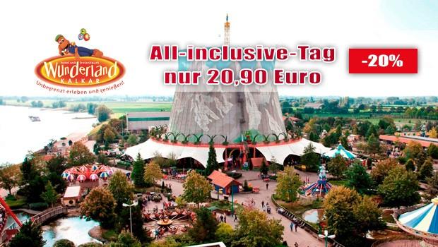 Wunderland Kalkar All Inclusive Angebot 2017
