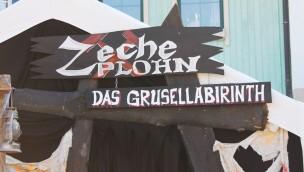 Zeche Plohn - Grusellabyrinth - Eingang