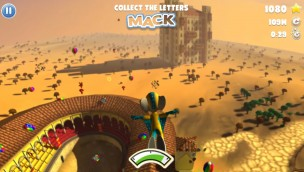 Cannon Flight - Euromaus Europa-Park-Spiel Screenshot