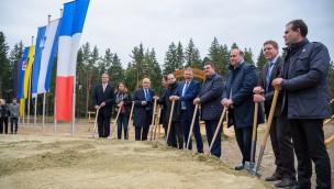 Center Parcs Allgäu feiert ersten Spatenstich: Baubeginn für neuen Ferienpark 2018