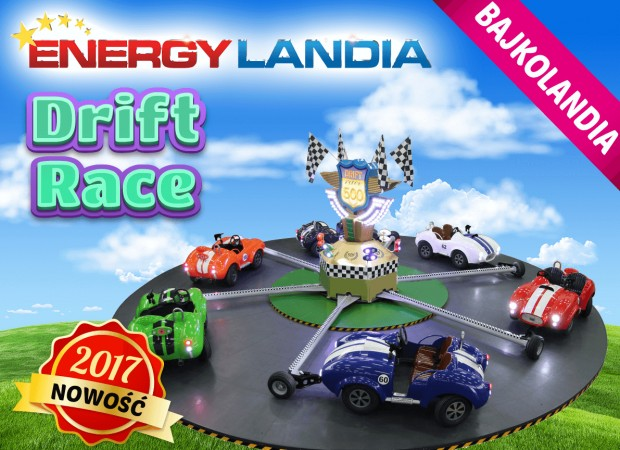 """Drift Race"" 2017 neu in EnergyLandia"