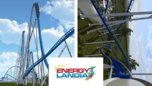 EnergyLandia plant Mega-Coaster von Vekoma oder Intamin für 2018 – Fans dürfen entscheiden