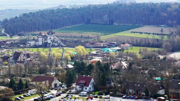 Erlebnispark Tripsdrill Luftnaufnahme 2016